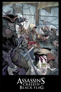 Assassin's Creed IV Black Flag Todd McFarlane poster Box Art