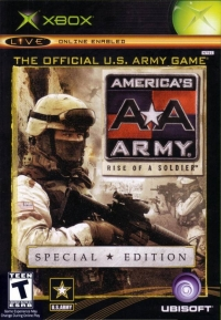America's Army: Rise of a Soldier - Special Edition Box Art