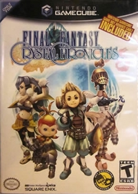 Final Fantasy: Crystal Chronicles (Cable Included) Box Art