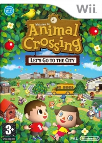 Animal Crossing: Let's Go to the City Box Art