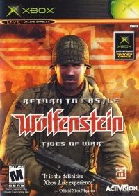 Return to Castle Wolfenstein: Tides of War Box Art