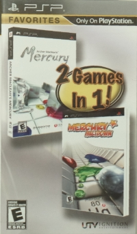 Archer Maclean's Mercury and Mercury Meltdown - Favorites Box Art