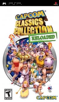 Capcom Classics Collection: Reloaded Box Art