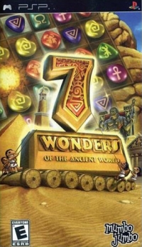 7 Wonders of the Ancient World Box Art