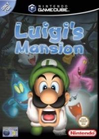 Luigi's Mansion Box Art