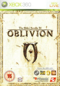 Elder Scrolls IV, The: Oblivion [UK] Box Art