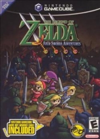 Legend of Zelda, The: Four Swords Adventures (Game Boy Advance Cable) Box Art