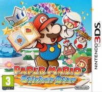 Paper Mario: Sticker Star [UK] Box Art