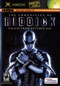 Chronicles of Riddick, The: Escape From Butcher Bay Box Art