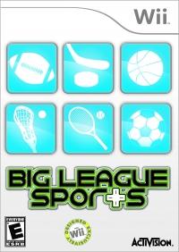 Big League Sports Box Art