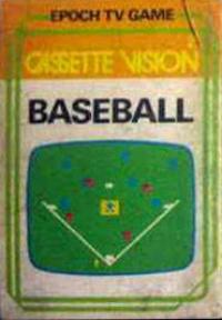 Cassette Vision - Baseball Box Art