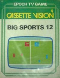 Cassette Vision - Big Sports 12 Box Art