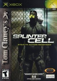 Tom Clancy's Splinter Cell Box Art