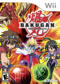 Bakugan Battle Brawlers Box Art
