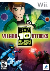 Ben 10 Alien Force: Vilgax Attacks Box Art