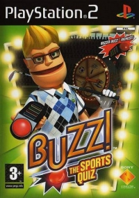 Buzz!: The Sports Quiz Box Art