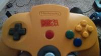 Nintendo 64 DK64 Limited Edition Banana Yellow Controller Box Art