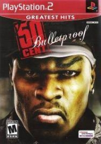 50 Cent: Bulletproof - Greatest Hits Box Art