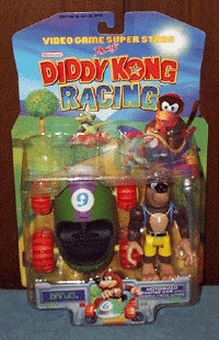 Banjo Figure and Car (Diddy Kong Racing) Box Art