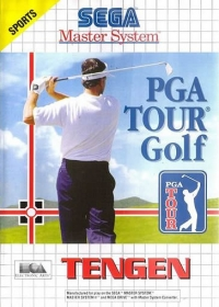 PGA Tour Golf Box Art
