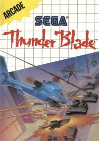 Thunder Blade (No Limits) Box Art