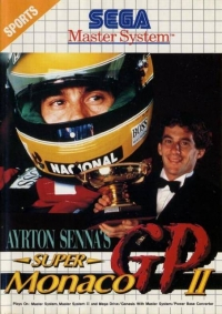 Ayrton Senna's Super Monaco GP II (2 photo) Box Art