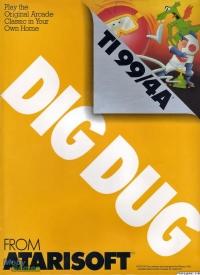 Dig Dug Box Art