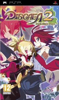 Disgaea 2: Dark Hero Days Box Art