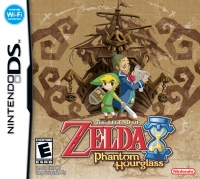 Legend of Zelda, The: Phantom Hourglass Box Art