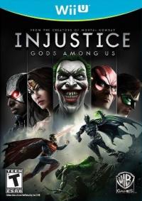 Injustice: Gods Among Us Box Art