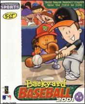 Backyard Baseball 2001 Box Art