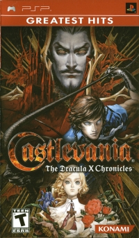 Castlevania: The Dracula X Chronicles - Greatest Hits Box Art