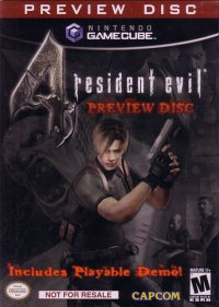 Resident Evil 4 - Preview Disc Box Art