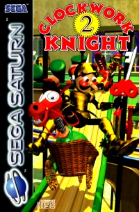 Clockwork Knight 2 Box Art