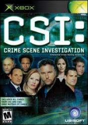 CSI: Crime Scene Investigation Box Art
