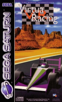 V.R. Virtua Racing Box Art
