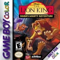 Disney's The Lion King: Simba's Mighty Adventure Box Art