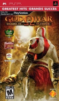 God of War: Chains of Olympus - Greatest Hits Box Art