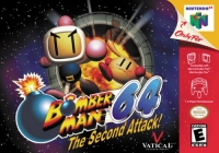 Bomberman 64: The Second Attack! Box Art