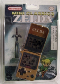 Nintendo Mini Classics: Zelda (2005) Box Art