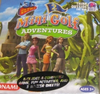 3D Ultra Mini-Golf Adventures 2 - Taco Bell promo Box Art