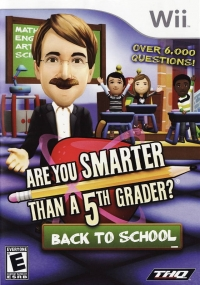Are You Smarter Than A 5th Grader?: Back To School Box Art