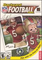 Backyard Football 2004 Box Art
