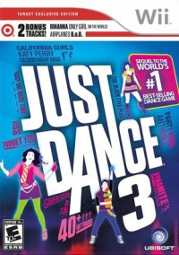 Just Dance 3 - Target Exclusive Edition Box Art