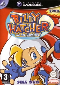 Billy Hatcher and the Giant Egg [UK] Box Art