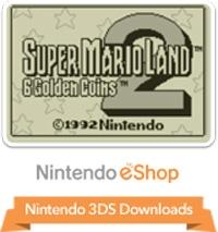 Super Mario Land 2: 6 Golden Coins Box Art