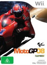 MotoGP 08 Box Art