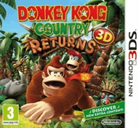 Donkey Kong Country Returns 3D Box Art