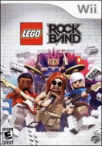 LEGO Rock Band Box Art