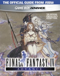 Final Fantasy IV Advance Official Player's Guide Box Art